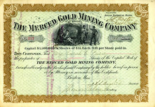MGMCo. Stock Certificate