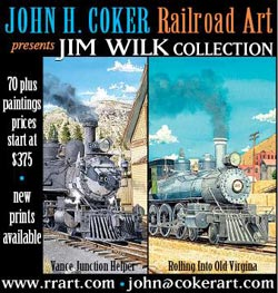 John Coker - Railroad Art