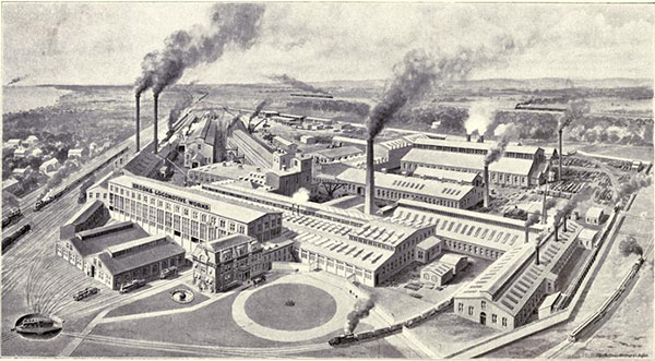 Brooks Locomotive Works Factory Engraving